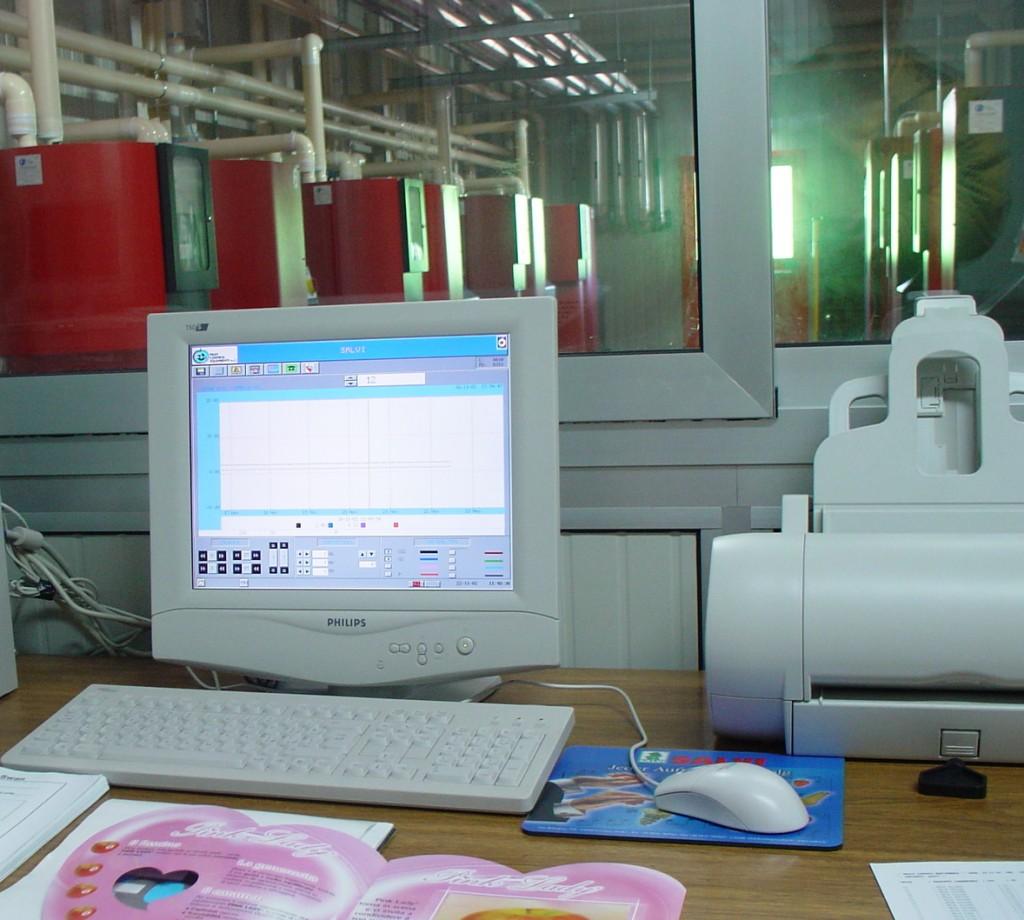 Salvi, control room